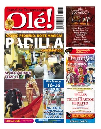 Semanário Olé edição 394 hoje nas bancas