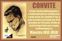 Jantar de Homenagem ao Maestro José Júlio