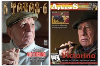 6 TOROS 6  e Aplausos por D. VICTORINO MARTIN ANDRÉS