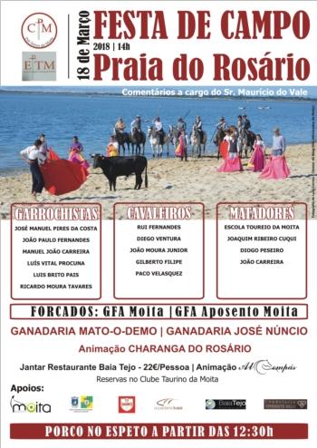 Festa da Campo na Praia do Rosário
