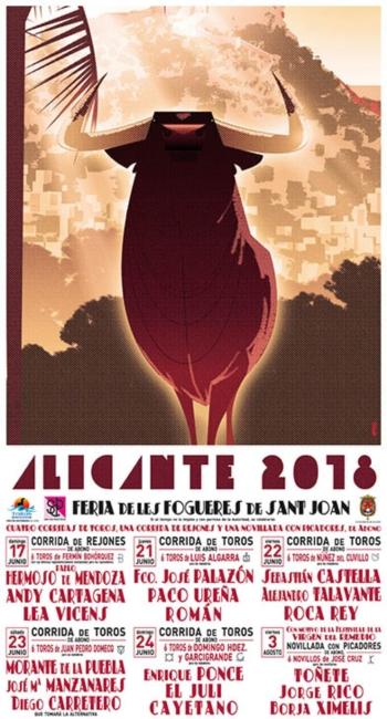 Feira das Fogueiras em Alicante 2018