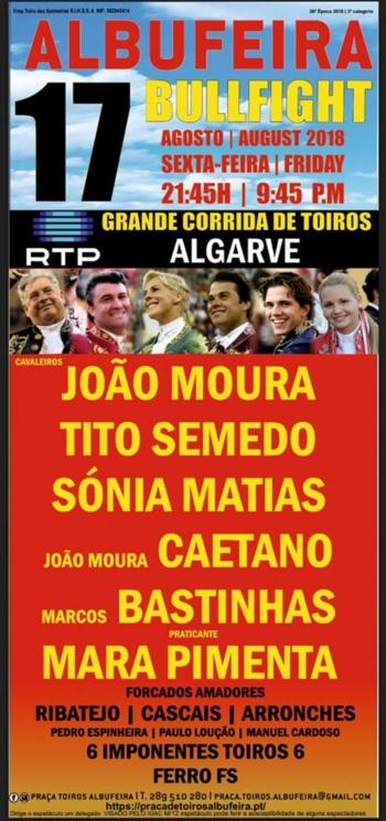 Corrida TV Algarve a 17 de agosto - Albufeira