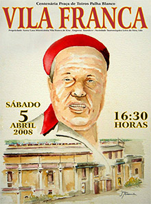 Vila Franca em homenagem a