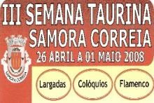 Samora Correia organiza a 3ª Semana Taurina e Feira Anual
