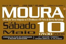 Hoje, Toiros em Moura