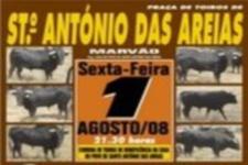 Corrida de Toiros de Beneficência em Santo António das Areias