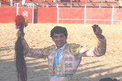 Novilheiro André Rocha triunfa em Espanha