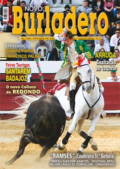 Acaba de sair a edição de Julho (N.º 248) da Revista NOVO BURLADERO.