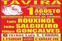 Dia 1 de Agosto há Toiros em Tavira