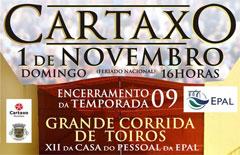 CARTAXO -  1 de Novembro de 2009