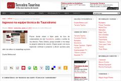 Duarte Bettencourt no Taurodromo.com