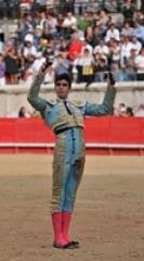 Miguel Ángel Perera, triunfa em Olivença
