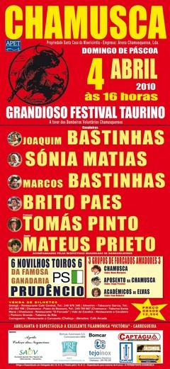 Festival Taurino na Chamusca dia 4 de Abril