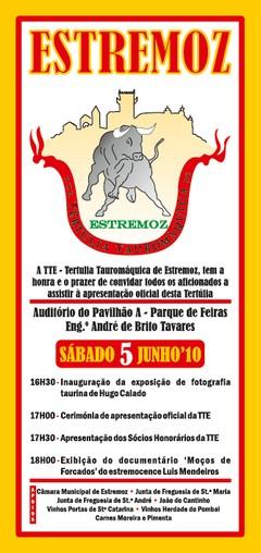 Apresentação Oficial da Tertúlia Tauromáquica de Estremoz