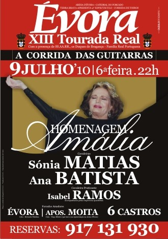 Amália homenageada em Évora na Corrida Real