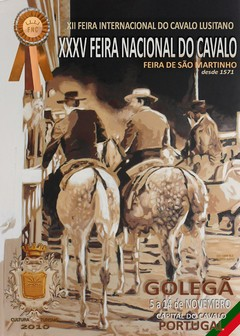 XXXV Feira Nacional do Cavalo na Golegã 5 a 14 de Novembro