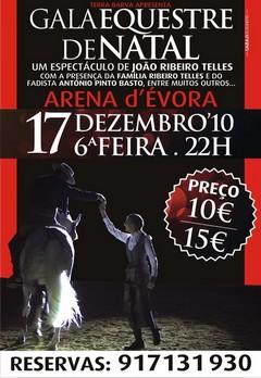 Gala Equestre de Natal na Arena d´Évora