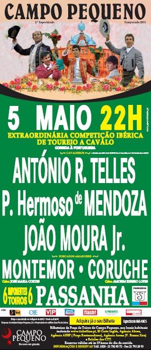 Arte Marialva vs Renojeio a 5 de Maio no Campo Pequeno