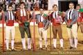 Tradicional corrida das flores integrada na feira taurina das festas de S. Pedro