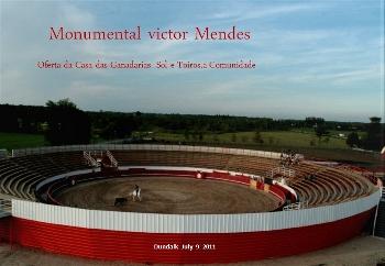 Monumental abertura da praça Vítor Mendes