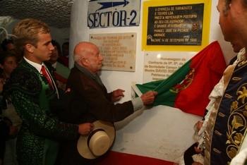 Primeira da Nazaré com homenagem a David Ribeiro Telles