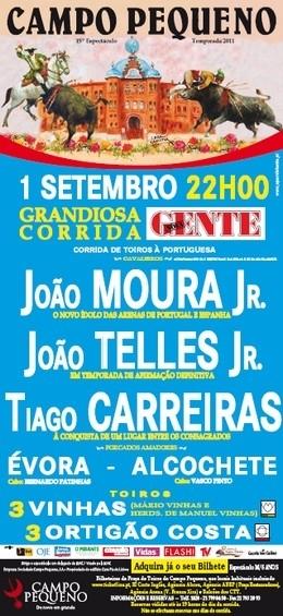 Em direto do Campo Pequeno a corrida de toiros da Revista Nova Gente