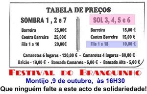 Festival do Branquinho a preços populares