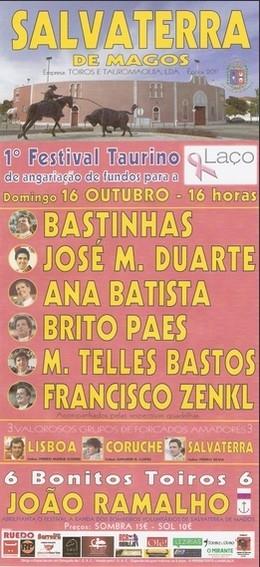 Festival em Salvaterra é o destaque para o Fim de Semana