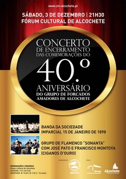 Concerto dos 40 anos dos Amadores de Alcochete