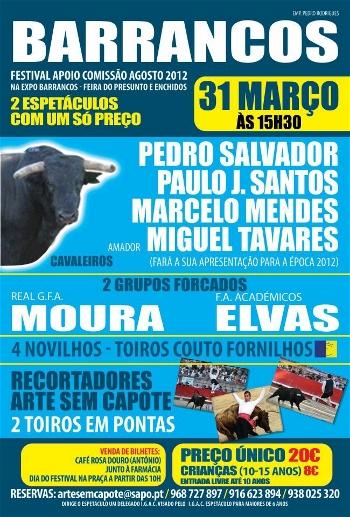 Festival Taurino Em Barrancos