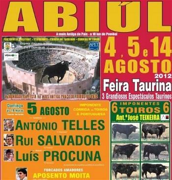 Aposento da Moita os Triunfadores Absolutos na Segunda de Abiúl