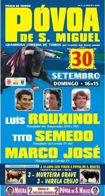 Póvoa de São Miguel, 30 de Setembro