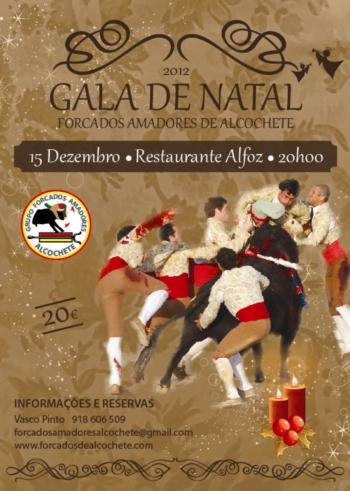 Gala de Natal do Grupo de Forcados Amadores de Alcochete