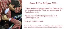 Jantar de Fim de Época dos Amadores de Vila Franca