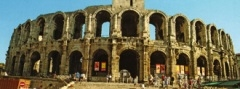 Feiras Taurinas na Cidade de Arles França