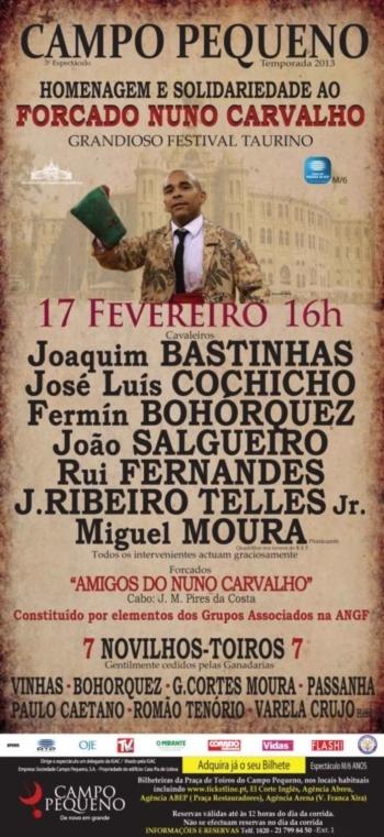 DVD Festival Nuno Carvalho Mata - Campo Pequeno