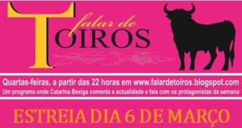 Vítor Ribeiro é o primeiro convidado do FALAR DE TOIROS