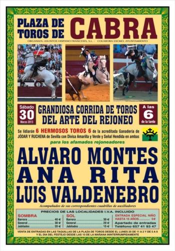 Ana Rita dia 30 em Cabra (Espanha)