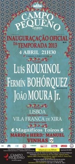 Taurodromo.com hoje em directo da Praça de Toiros do Campo Pequeno