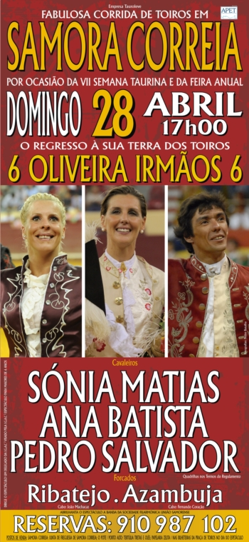 Samora Correia, dia 28 de Abril