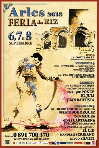 Cartaz da Feria du Riz 2013 (Arles)