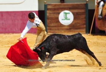 Diogo Peseiro corta duas orelhas e rabo em La Nava de Santiago