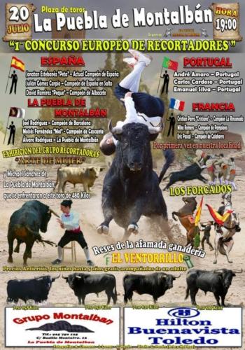 1º Concurso Europeu de Recortadores em Espanha