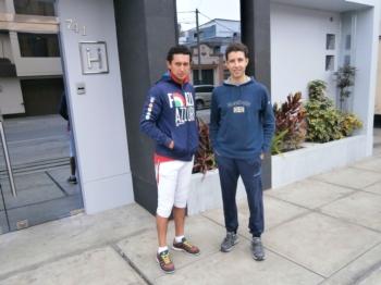 Treino de Pedrito com Curro Rodriguez