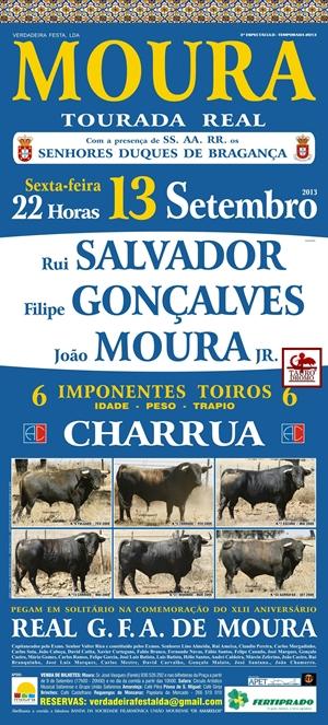 Tourada Real em Moura