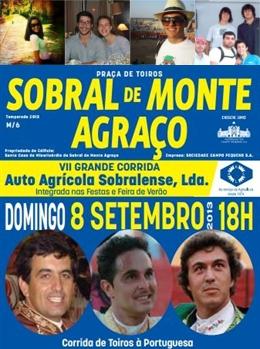 Vencedores dos Bilhetes para hoje (8.SET) no Sobral de Monte Agraço