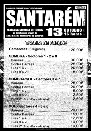 Reserve já as suas entradas para Santarém