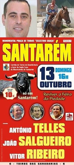 Vencedores dos bilhetes para Santarém 13.OUT (2º Sorteio)