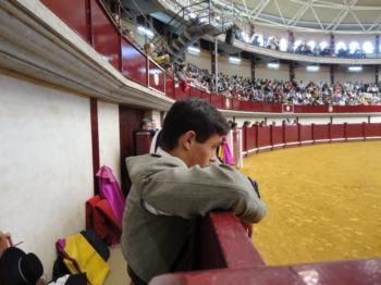 Pedro Cunha aplaudido em Alba de Tormes (Espanha)