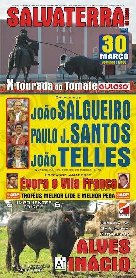 Domingo, 30 de Março - X Tourada do Tomate - Salvaterra de Magos